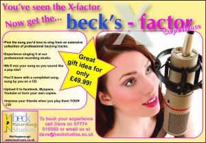 Becks factor experience